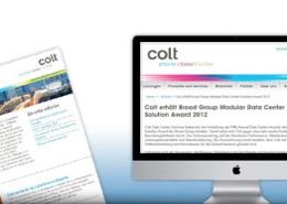 Colt - Multilingual customer newsletter
