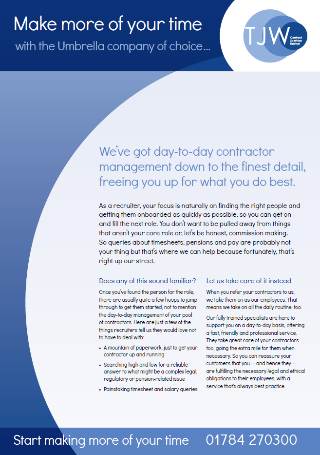 TJW Consultant Sales Collateral
