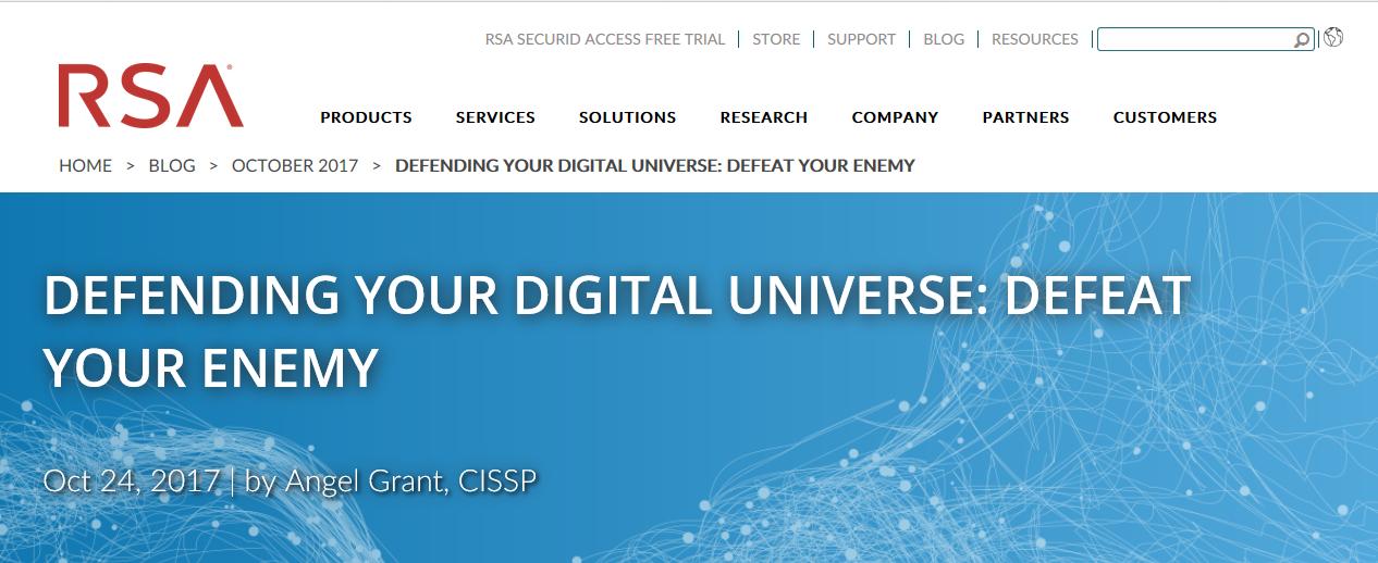 RSA Blog Programme Example
