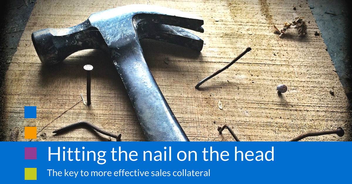 More effective sales collateral